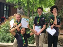 Australian Scout Medallion Presentation November 2017 1