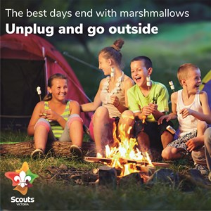 The best days end with marshmallows