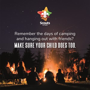 Remember the days of camping and hanging out with friends?
